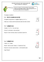 Standard written method of multiplication