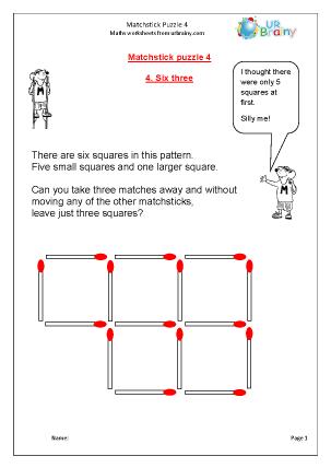 Matchstick Puzzle 4