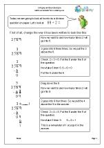 Standard Written Division 1