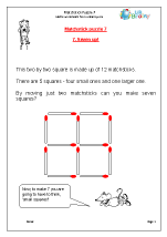 Matchstick Puzzle  7