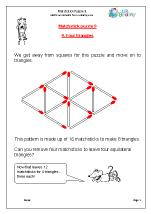 Matchstick Puzzle 9