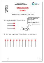 Matchstick Puzzle 10