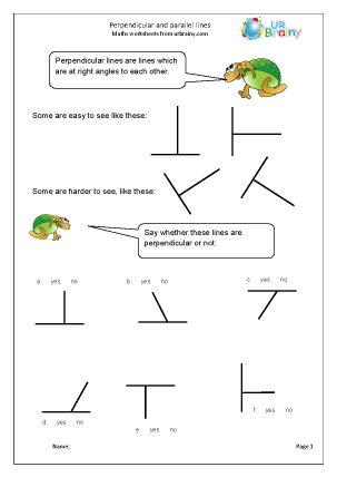 ... parallel lines Geometry (Shape) Maths Worksheets For Year 3 (age 7-8
