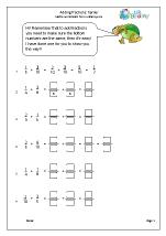 Harder adding fractions