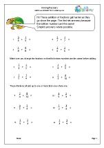 Harder adding fractions (1)