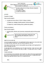 2014 Programme of Study: Year 1 Geometry