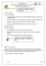 Programme of Study: Year 4 Geometry