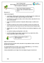 Programme of Study: Year 5 Measurement
