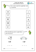 Introducing Capital Letters