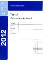Maths Paper A 2012