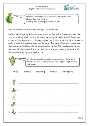 Simple Adverbs