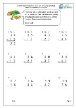 Subtraction in columns (3)