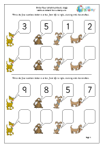 Order 4 small numbers: dogs