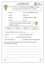 Printables Words Ending In Tion Worksheet word endings english worksheets for middleupper primary spelling words ending in sure