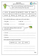 Word list 4 (years 3-4)