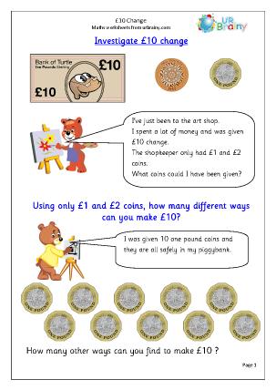 £10 Change: Investigate