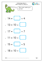 Partitioning numbers (1)