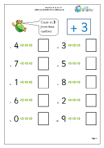 Number and Place Value Maths Worksheets for Year 2 (age 6-7)