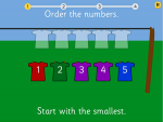 Order numbers to 10