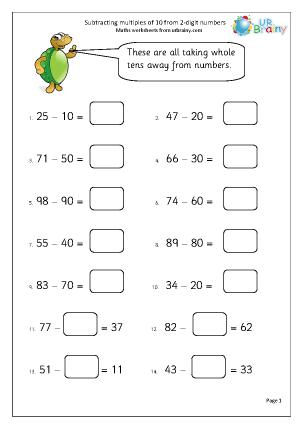 math worksheet : subtraction maths worksheets for year 2 age 6 7  : Adding And Subtracting Worksheets Ks1
