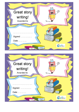 Great Story Writing (3)