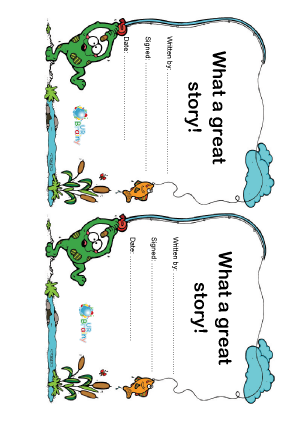 Preview of worksheet Great Story Writing (5)