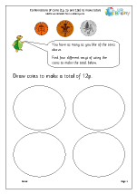 Making totals using coins (2)