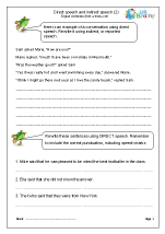 Direct and indirect speech (2)