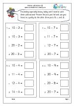 Brainy subtraction 2 (intelligent practice)