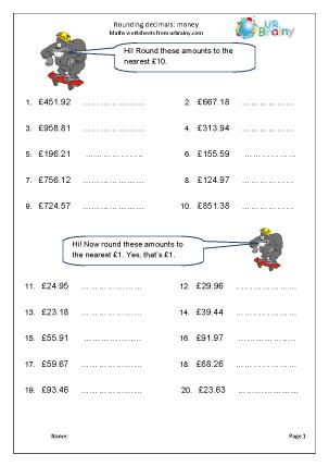 Rounding money (1)