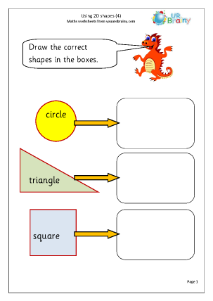 Using 2D Shape (4)