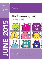 2015 Phonics screening check   pupil's  materials