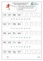 Order 4 numbers above 50