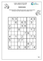 Sudoku 6 to 10 (fiendish)