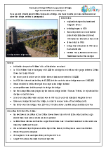 Bridges: Clifton Bridge factsheet