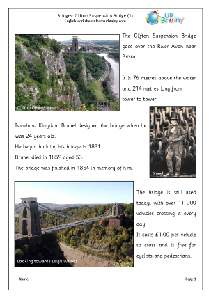 Clifton Suspension Bridge 1