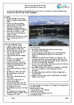 Bridges: Menai Bridge factsheet