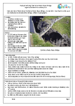 Bridges: Carrick-a-Rede Rope Bridge factsheet