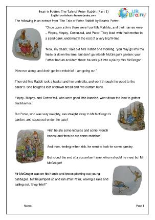 Peter Rabbit part 1
