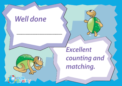 Preview of worksheet Excelent Counting and Matching