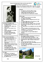 Beatrix Potter and The Lake District factsheet