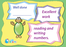 Excelent Work Reading and Writing Numbers