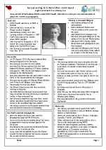 Factsheet: Edith Cavell