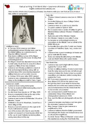 Factsheet: Lawrence of Arabia