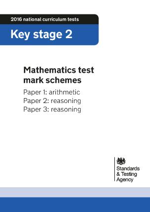 2016 KS2 Mathematics Mark Schemes