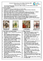 Factsheet: lead up to The Battle of Hastings