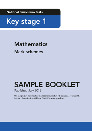 Sample KS1 Mathematics Mark Schemes