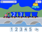 Number Line Game - Up To Five