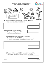 Year 4 Maths Worksheets (age 8-9)