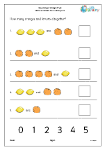 Counting two sets - oranges and lemons